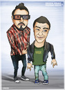 Cartoon: Gamez  Papercross (small) by gamez tagged gmz,gamez,georg,papercross,road,way,day,ray