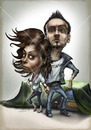 Cartoon: WE!. (small) by gamez tagged gamez,we,people,artist,agregat,light,hair,eye,day,tag,monat