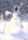 Cartoon: Suicide of a Snowman (small) by Ridha Ridha tagged suicide,of,snowman,black,humor,cartoon,by,ridha