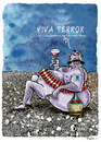 Cartoon: Viva Terror (small) by Ridha Ridha tagged ridha,cartoom,art,anti,terrorism,scorching,criticism