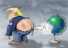 Cartoon: When the wind blows (small) by Ridha Ridha tagged when,the,wind,blows,cartoon,donald,trump