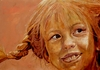 Cartoon: Pippi (small) by ARTito tagged pippi,longstocking,girl,astrid,lindgren