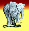 Cartoon: Good and evil. (small) by tunin-s tagged elephant,and,boa
