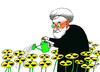 Cartoon: Le Fleurs du mal (small) by tunin-s tagged iranian,programme