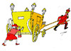 Cartoon: Monarchy (small) by tunin-s tagged monarchy