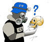 Cartoon: Question in Syria (small) by tunin-s tagged gas,attack