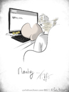 Cartoon: Monday... (small) by Carlo Büchner tagged monday,montag,dont,like,mondays,weekend,wochenende,hangover,tired,müde,office,büro,ray,carlo,büchner,arts,2015,woche,start,arbeit,satire,cartoon,humor,fun,funny,spass,witz,joke,enjoy,life