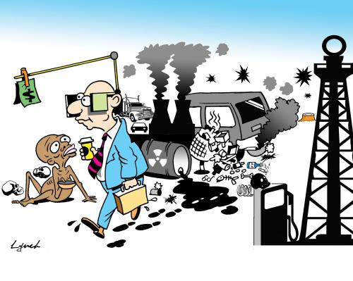 Cartoon: blinkers (medium) by toons tagged africa,hungry,starvation,famine,environment,ecology,greenhouse,gases,pollution,earth,day