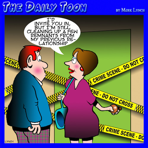 Cartoon: Crime scene (medium) by toons tagged ex,boyfriend,crime,scene,murder,scent,first,date,ex,boyfriend,crime,scene,murder,scent,first,date