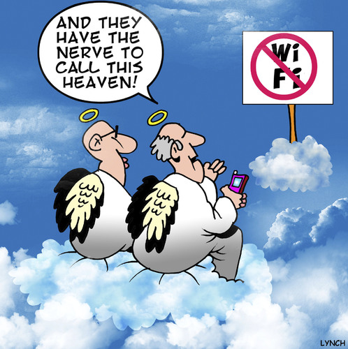 Cartoon: No WI FI (medium) by toons tagged wi,fi,apps,internet,connection,iphone,ipad,mobile,phones,social,media,facebook,google,connectivity