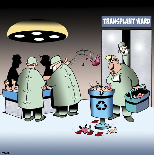 Cartoon: Recycle bin (medium) by toons tagged medical,organ,transplant,recycle,bin,doctors,operating,table,transplants,hospitals,medical,organ,transplant,recycle,bin,doctors,operating,table,transplants,hospitals