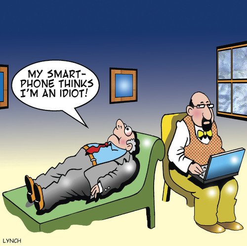 Cartoon: Smartphone (medium) by toons tagged smartphone,mobile,phone