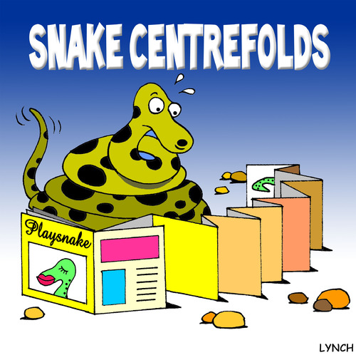 Cartoon: snake centrefolds (medium) by toons tagged snakes,reptiles,girlie,magazines,playboy,pin,up,glamour,posing,animals,photography