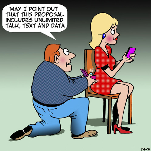 Cartoon: Unlimited text and data (medium) by toons tagged marriage,proposal,wedding,ring,unlimited,downloads,iphone,smart,phone,marriage,proposal,wedding,ring,unlimited,downloads,iphone,smart,phone