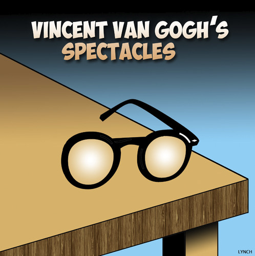 Van Gogh glasses