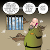 Cartoon: Bad luck (small) by toons tagged ex,wife,prison,jail,convict,employment,bus,driver,bad,luck