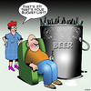 Cartoon: Bucket list (small) by toons tagged beer,bucket,list,drunk,cold,beers