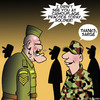 Cartoon: Camouflage (small) by toons tagged camouflage,army,sargent,fashion,enlisted,man,uniform