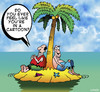 Cartoon: Cartoon (small) by toons tagged desert,island,cartoon,imagineary,stranded,comics