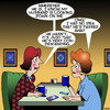 Cartoon: Condescending (small) by toons tagged death,condescending,passed,away
