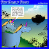 Cartoon: Cruise ships (small) by toons tagged coronavirus,unicorns,noahs,ark,crusing,germs,covid,19,myths,bible