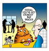 Cartoon: crunchy bar snacks (small) by toons tagged cats,mice,animals,pubs,bars,food,bar,bartender,publican,off,licence