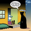 Cartoon: Directions (small) by toons tagged grim,reaper,directions,heart,attack,shock,apocalypse,coronary