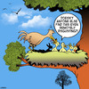Cartoon: Disgusting (small) by toons tagged birds,nest,regurgitated,food,mother,and,child,spring,disgusting,habits