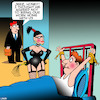 Cartoon: Dominatrix (small) by toons tagged work from home bondage dominatrix whipping kinky