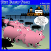 Cartoon: Donor card (small) by toons tagged abattoir,pigs,organ,donors,slaughter,house,animals,meats,processed,foods,ham,bacon