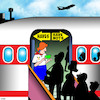 Cartoon: First class (small) by toons tagged have,nots,air,travel,first,class,economy,rich,and,poor,frequent,flyers,aeroplanes,passenger,jets