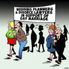 Cartoon: Gay marriage (small) by toons tagged gay,marriage,wedding,planners,divorce,lawyers,mardi,gras,protest,march