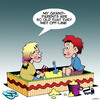 Cartoon: Grandparents (small) by toons tagged children,sandbox,grandparents,offline,internet,childrens,playground