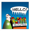 Cartoon: greetings (small) by toons tagged birthday,cards,greeting,anniversary,get,well