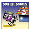 Cartoon: Gullible prunes (small) by toons tagged pharmacy,anti,wrinkle,creme,prunes,perfumes,chemist,drug,store,ageing,moisturiser,stretch,marks,wrinkles