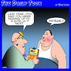 Cartoon: Gym (small) by toons tagged exercise,gym,obesity,weight,loss,yearly,check,up,doctors