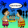 Cartoon: Hors d oeuvre (small) by toons tagged hors,oeuvres,food,snack,restaurant,native,cannibal,africa,entree,finger,fooddining,pre,dinner