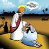 Cartoon: Jesus saves (small) by toons tagged miracles,press,save,smart,phones