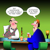 Cartoon: Jurrasic park (small) by toons tagged jurrasic,park,turbulent,marriage,complaining,to,barkeeper,whinging