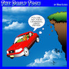 Cartoon: Lemmings (small) by toons tagged uber,taxi,lemmings,animals