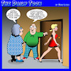 Cartoon: Manners (small) by toons tagged manners,jealous,infidelity,happy,couple,divorce