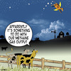 Cartoon: methane (small) by toons tagged methane,cow,over,the,moon,fairy,tales,cows