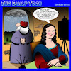 Cartoon: Mona Lisa (small) by toons tagged leonardo,da,vinci,mona,lisa,portrait,painter,artist,art