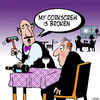 Cartoon: My corkscrew (small) by toons tagged waiter,corkscrew,wine,bottle