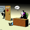 Cartoon: Next (small) by toons tagged halloween,vampires,blood,donor,hospital
