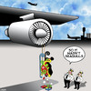 Cartoon: Not seagulls (small) by toons tagged santas,reindeers,sleigh,sucked,into,jet,engine,xmas,christmas,presents
