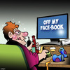 Cartoon: Off my face (small) by toons tagged facebook,drunk,off,my,face,alcohol