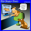 Cartoon: Online porn (small) by toons tagged dogs,online,porn,snapchat,watching,animals