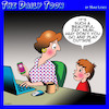 Cartoon: Play outside (small) by toons tagged internet,addiction,go,play,outside,role,reversals,phone