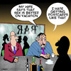 Cartoon: Postcards from the edge (small) by toons tagged vacation,postcards,travel,holidays